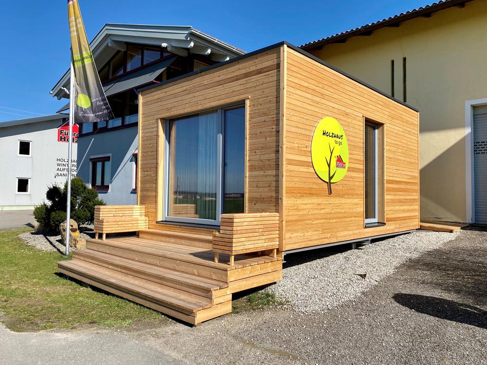 Tiny House - HOLZHAUS zu go NANO